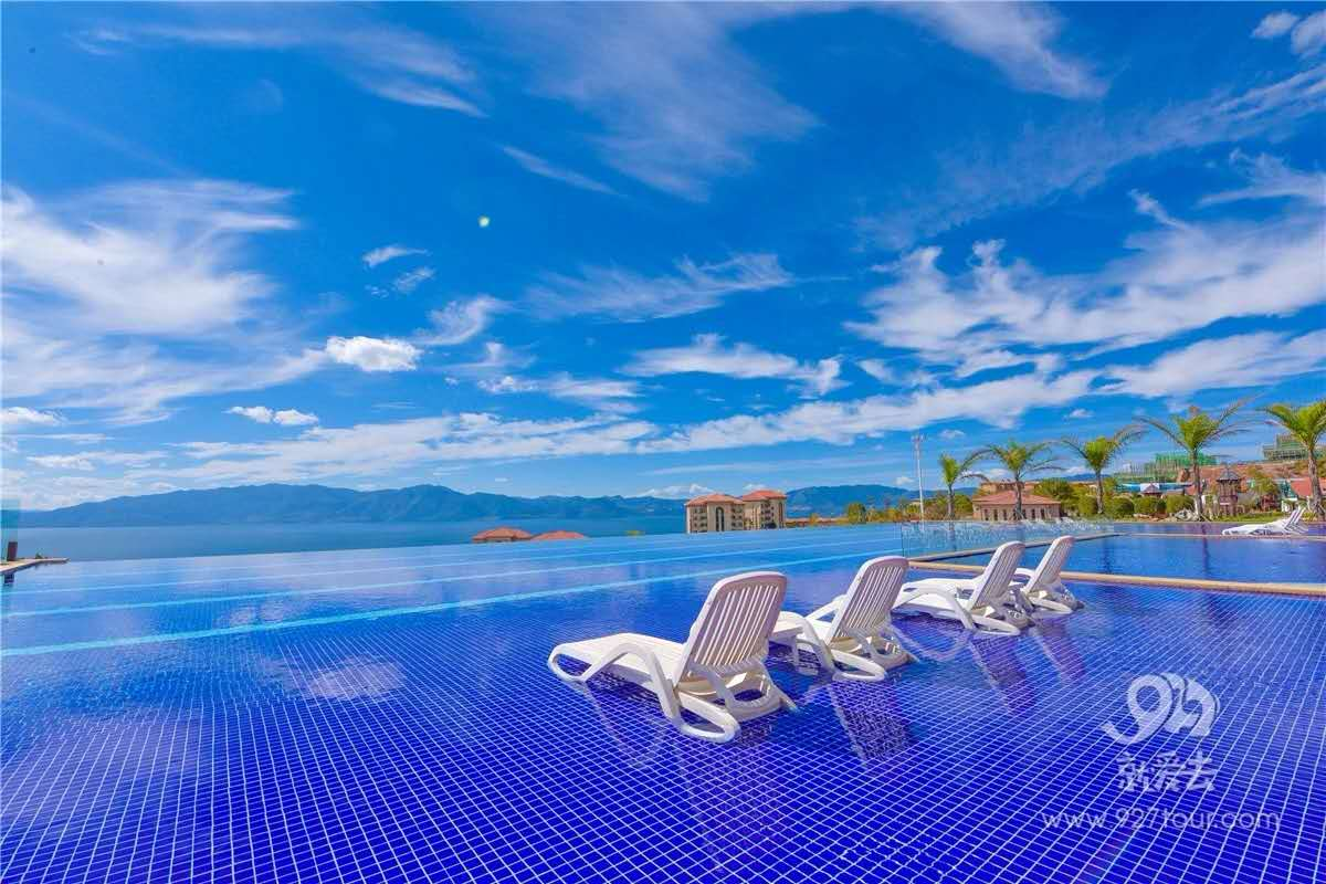 太陽山度假酒店 | 高顏值無邊泳池,等你來浪!